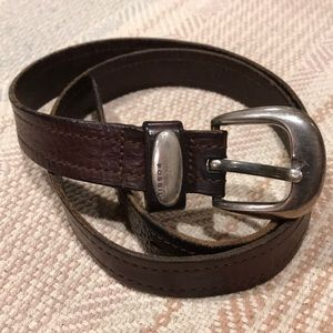 Fossil brown leather belt - SZ 36
